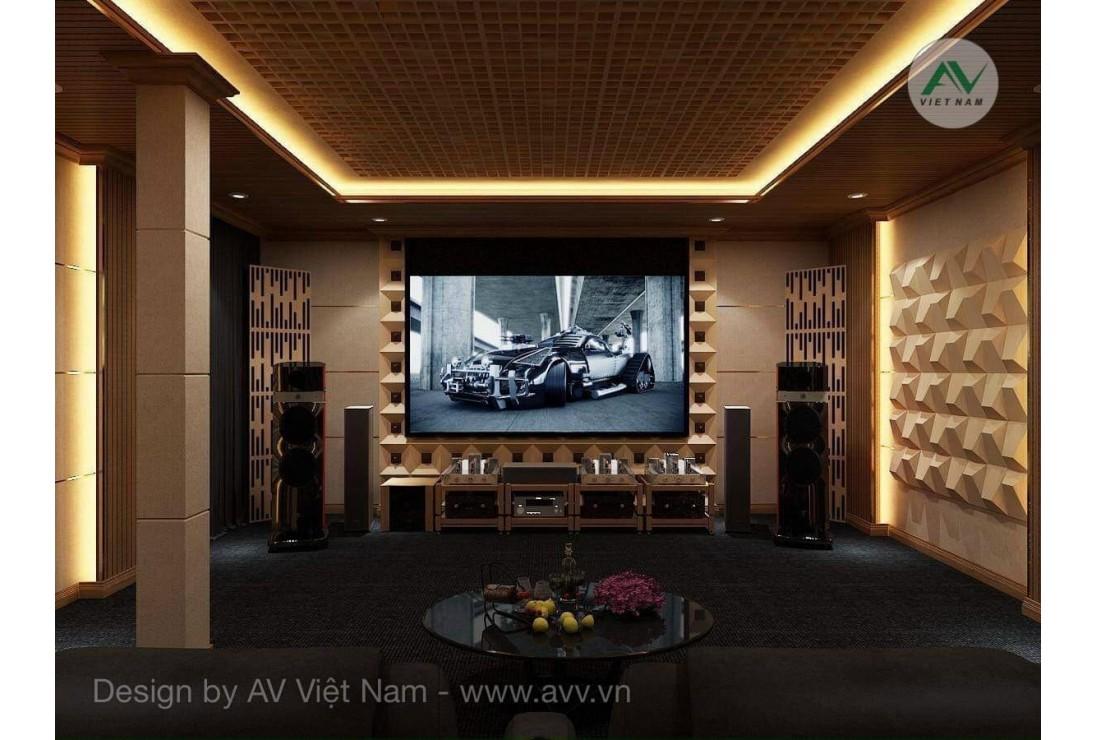 Cùng AV Việt Nam tìm hiểu về thiết kế tiêu âm tán âm cho phòng nghe nhạc tại gia
