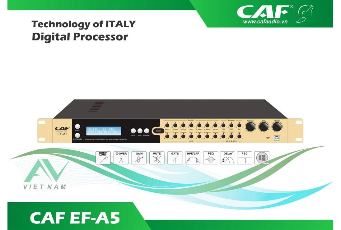 Giới thiệu Vang số CAF EF-A5, giá thành bình dân, hiệu quả cao