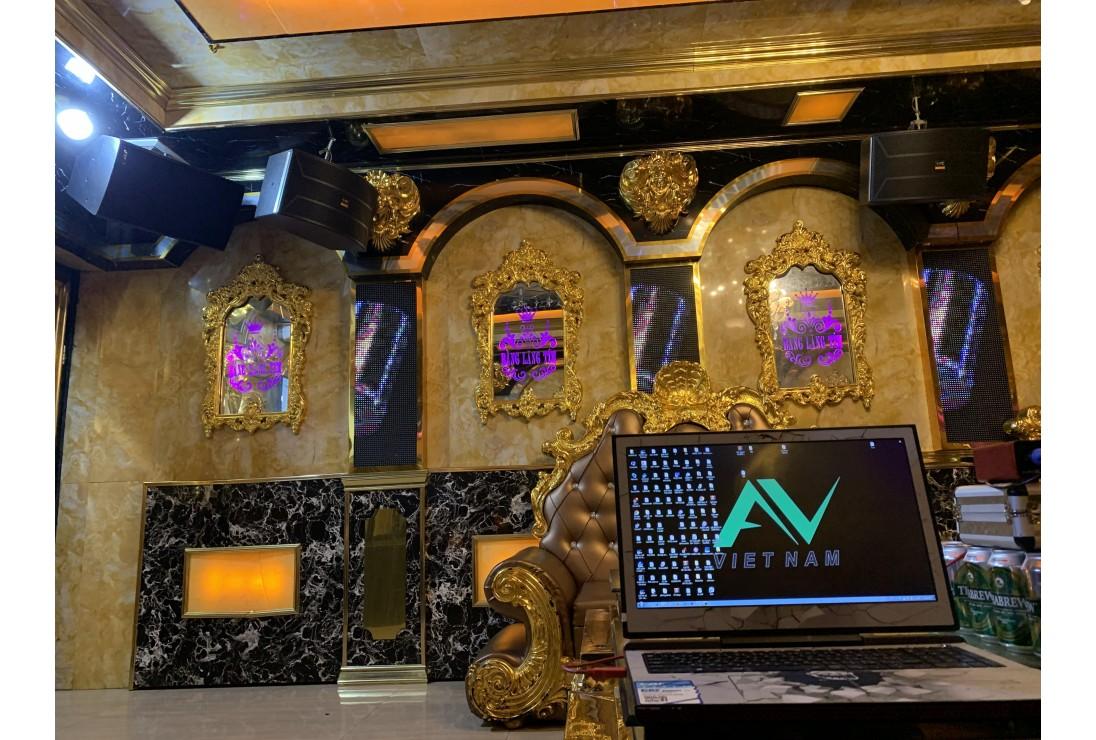 Karaoke Bằng Lăng Tím, Tin dùng của chủ đầu tư cho 15 phòng Karaoke CAF AUDIO