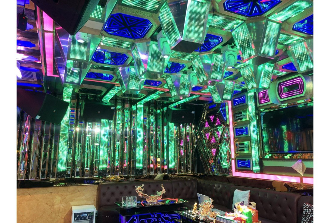Phòng karaoke thiết kế theo phong cách Mini Bar AV Việt Nam