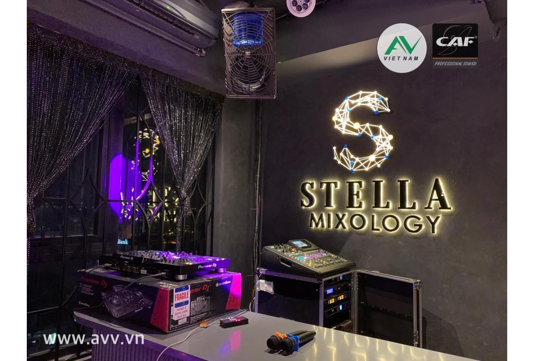STELLA MIXOLOGY - 39 NGUYỄN KHẮC HIẾU - BAR RƯỢU PHONG CÁCH HIỆN ĐẠI 2020 VỚI ÂM THANH CAF AUDIO AV VIỆT NAM