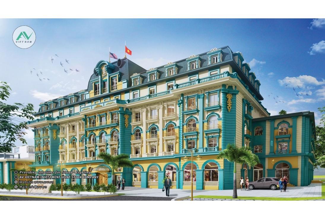 Bàn giao âm thanh line array CAF AUDIO dự án khách sạn Thiên Ân - Việt Yên Bắc Giang
