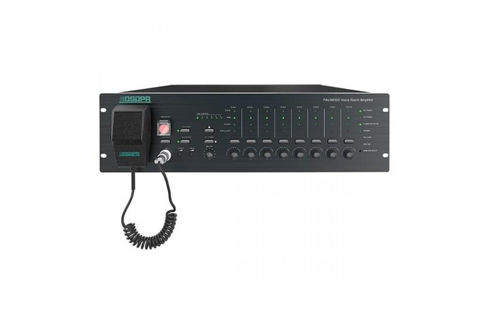 PAVA8500 bộ điều khiển trung tâm 8 vùng độc lập