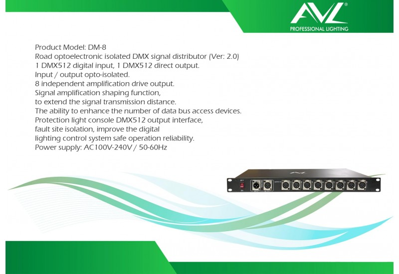 AVL DM 8