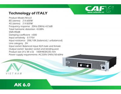 CAF AK 6.0