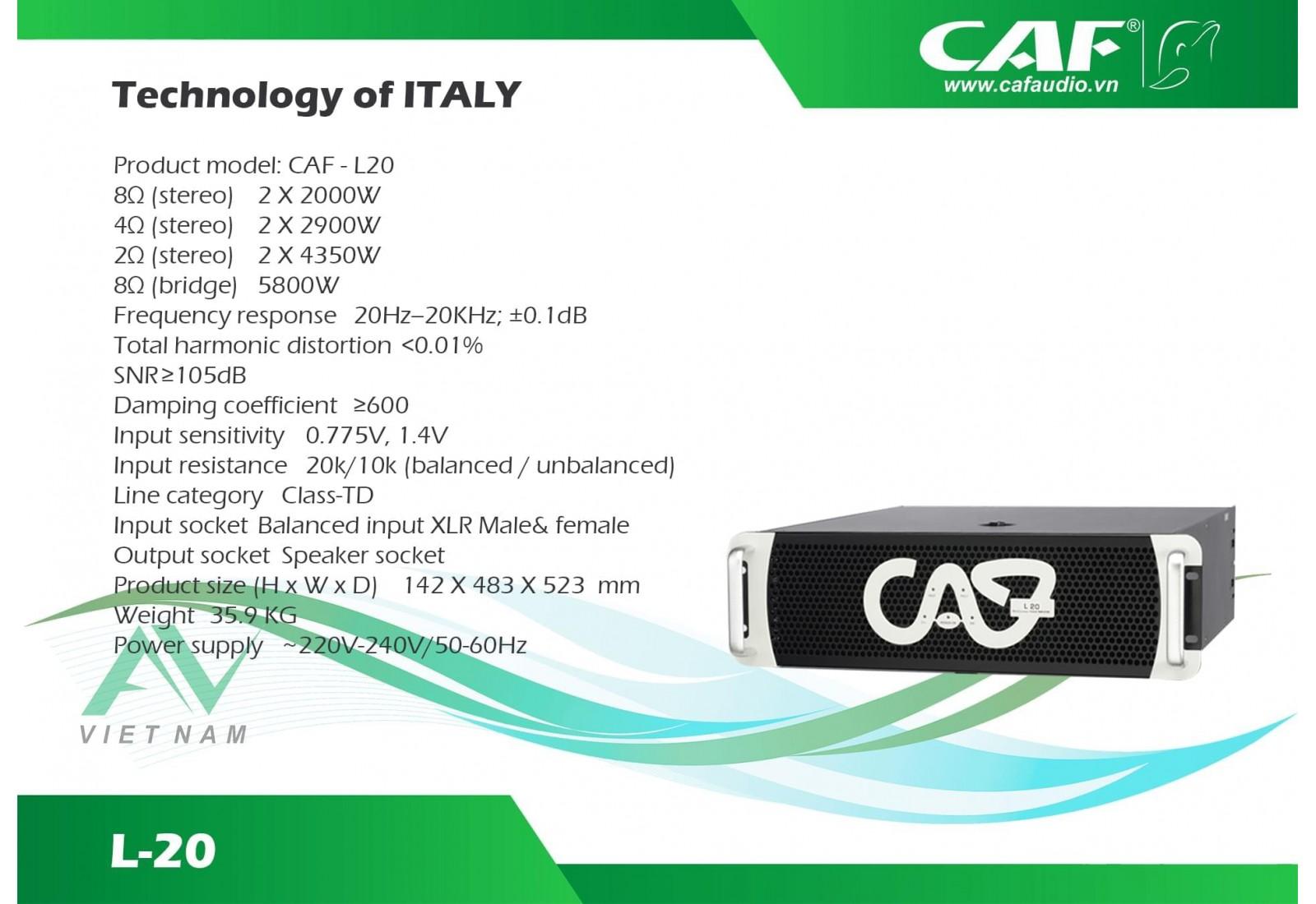 CAF L20