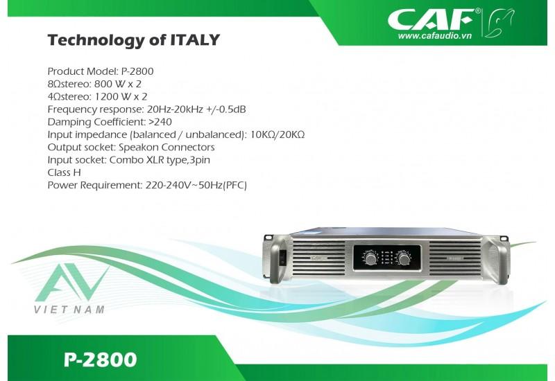 CAF P 2800