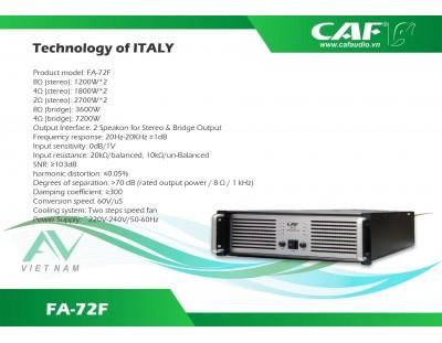 CAF FA-72F