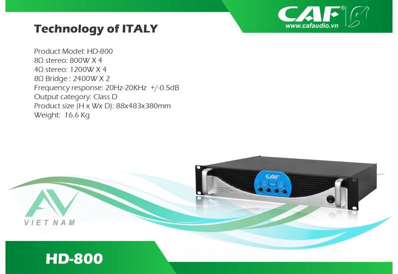 CAF HD-600