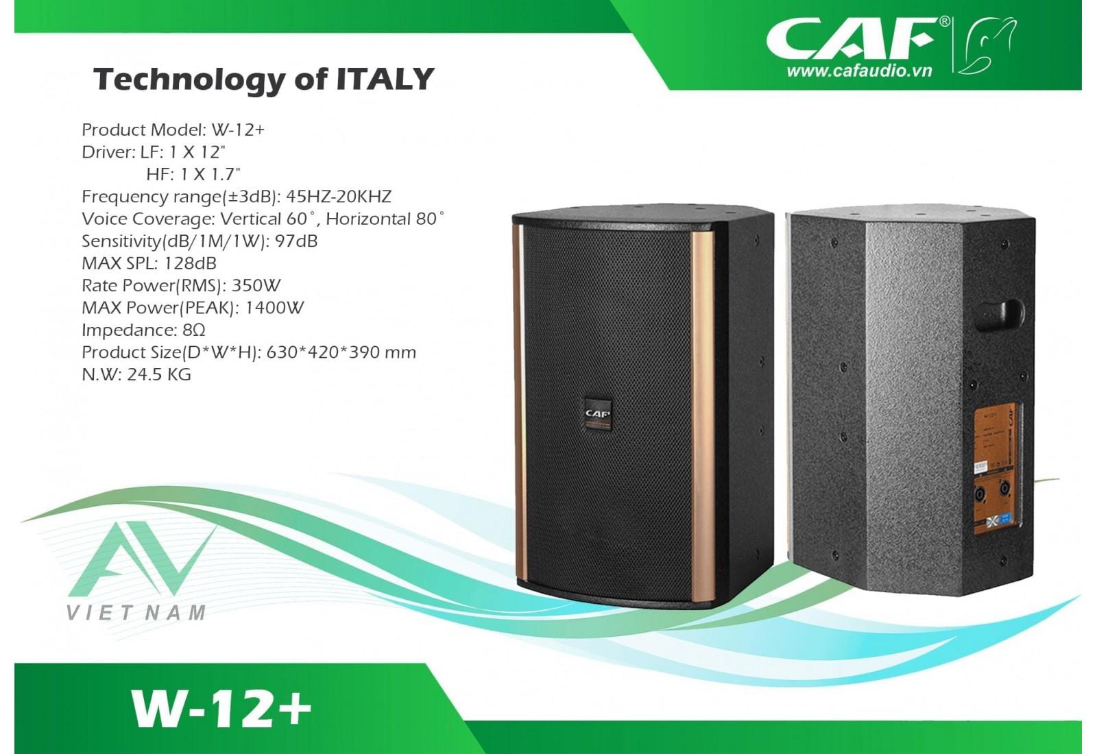 CAF W-12+