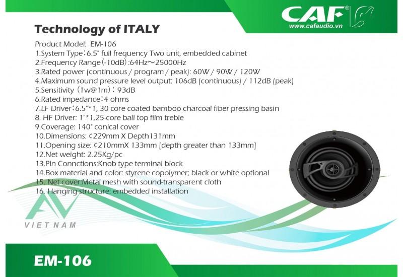 CAF EM 106