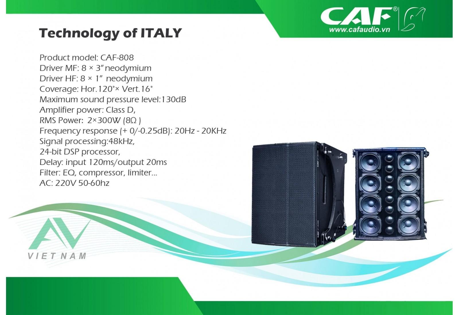 CAF VS-808