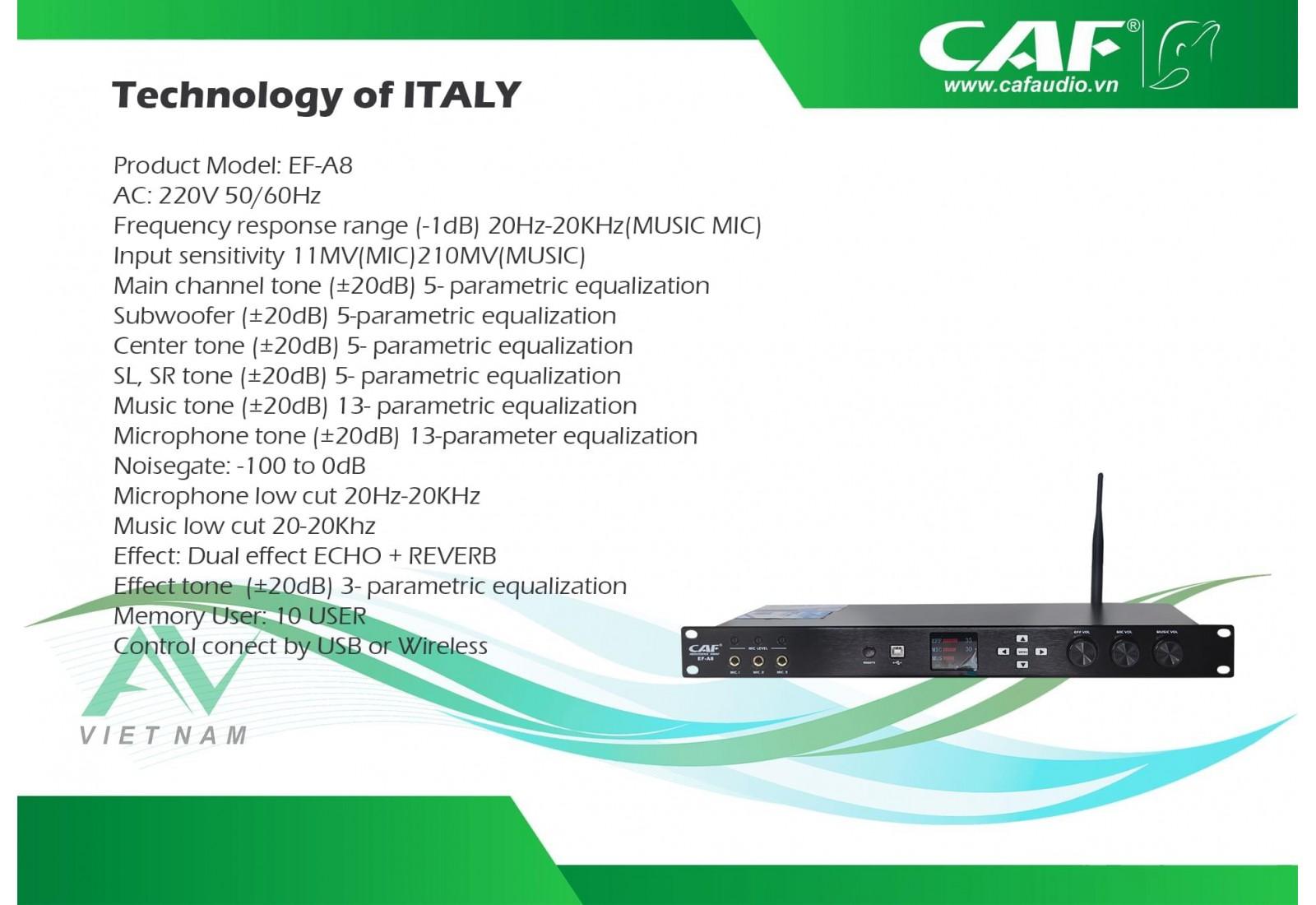 CAF EF-A8