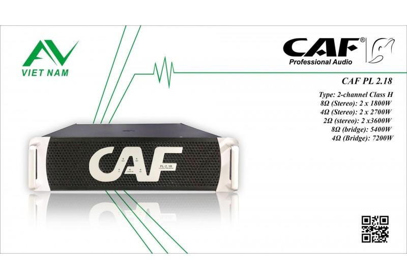 CAF PL 2.18