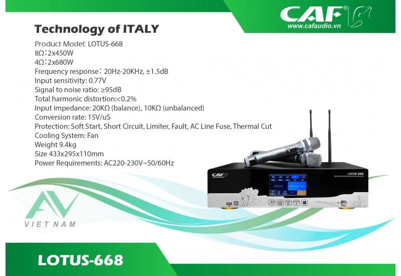 CAF LOTUS 668