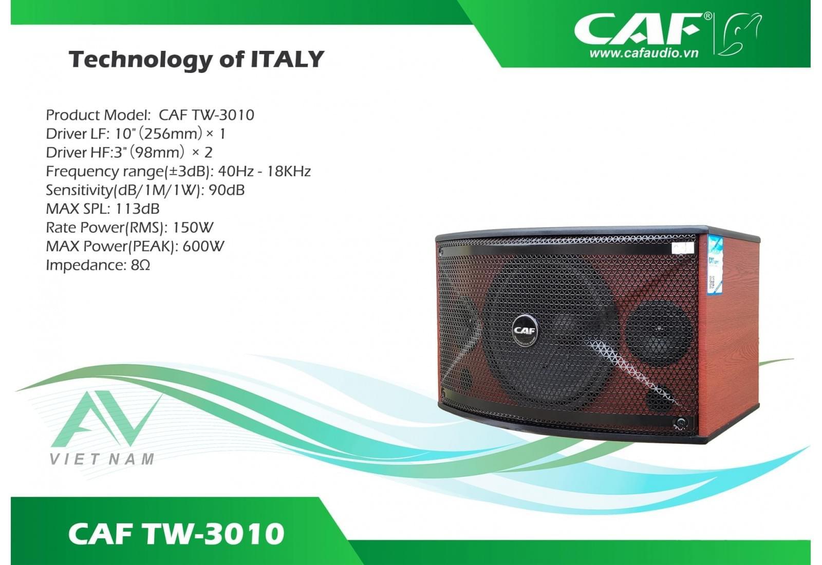 CAF TW-3010