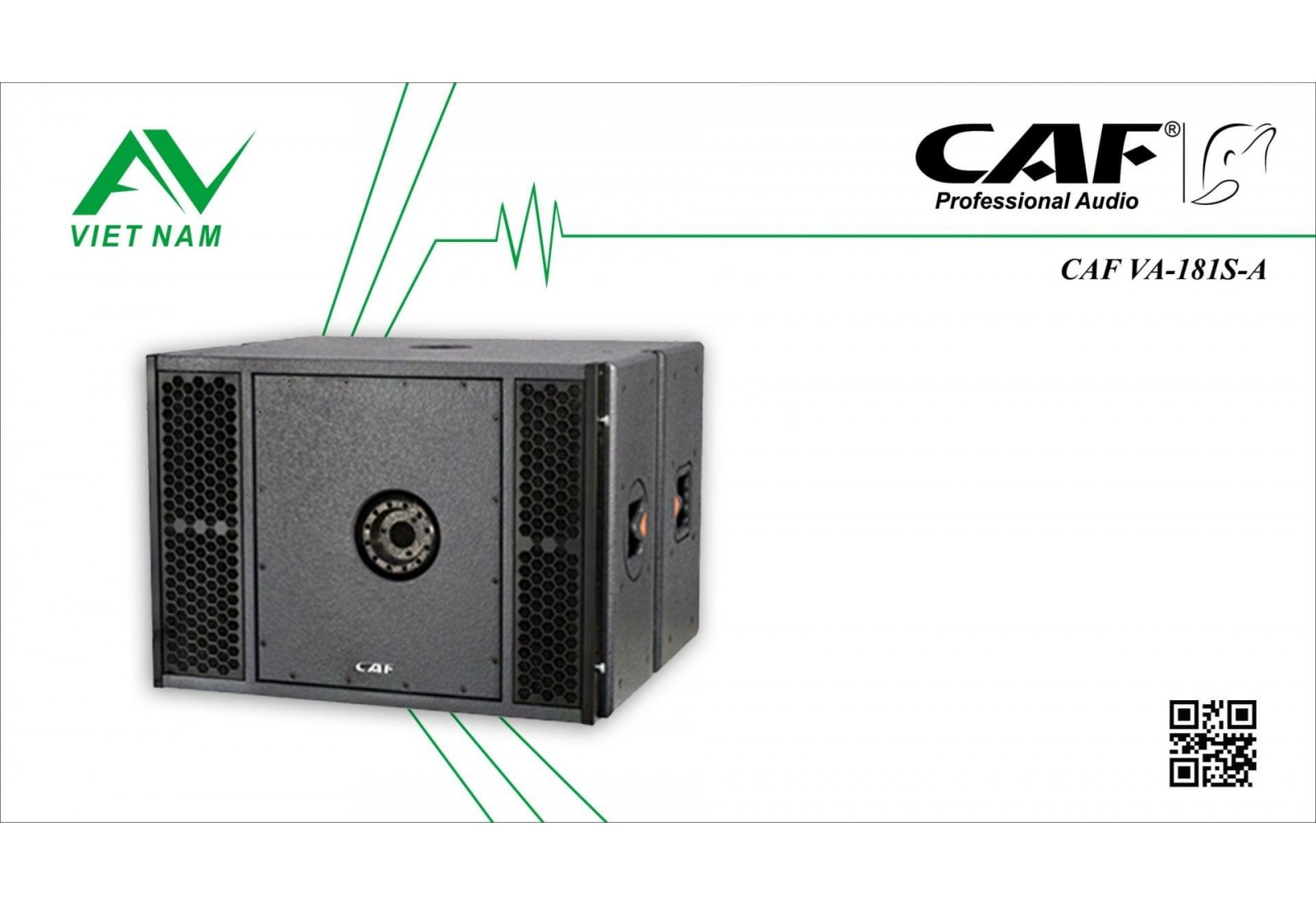 CAF VA-181S-A Active (VA 210 Line Array System)